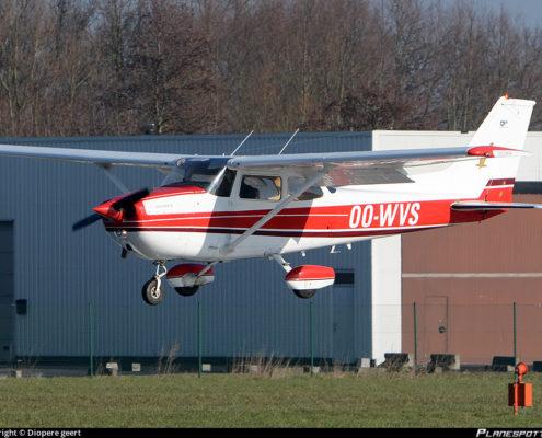 OO-WVS Cessna 172/N